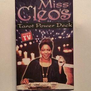 Miss Cleo Power Tarot Deck, New